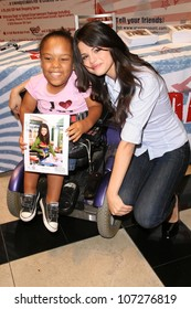 """Selena Gomez  at a Mall Appearance to promote 'Ur Votes Count"""", an event for teens planning on voting in the 2012 election. Glendale Galleria, Glendale, CA. 08-16-08"""