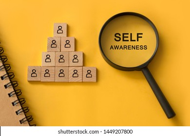 self awareness , human resource management concept, find your passion, who are you
