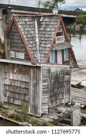self built floating home