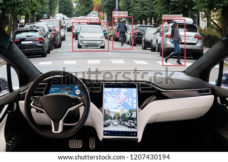 Self driving electric car
