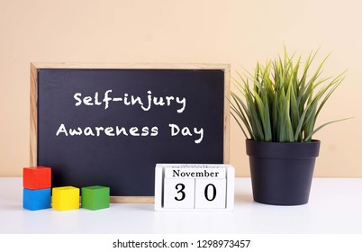 Self-injury Awareness Day is a grassroots annual global awareness event