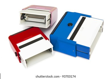 Self-ink rubber stamps
