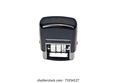 Self-inking Stamp - Dater with replacement ink pad