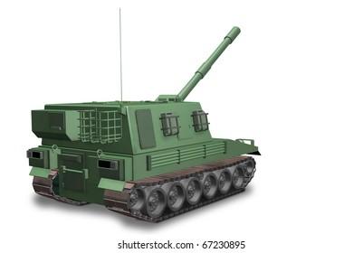 Self-propelled guns