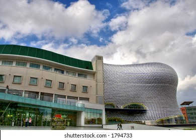 The Selfridges building at the Bullring shopping centre in Birmingham (England)