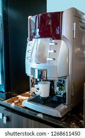 self-service coffee machines offer consistent, quality coffee in hotel, sport club or office.
