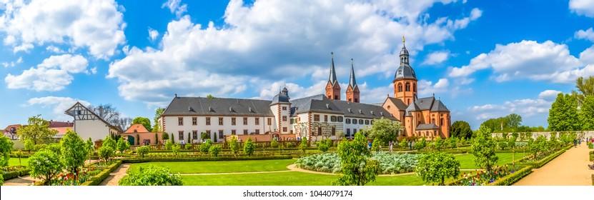 Seligenstadt, Abbey, Germany