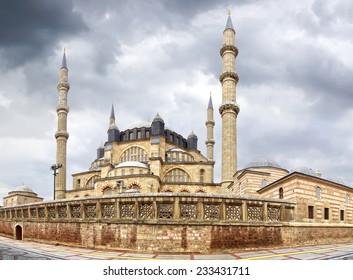 Selimiye Mosque, designed by Mimar Sinan in 1575.  Edirne