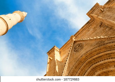 Selimiye Mosque, formerly Cathedral of st. Sophia. Nicosia, Cyprus