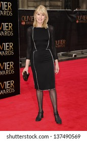 Selina Scott arriving for the Laurence Olivier Awards 2013 at the Royal Opera House, Covent Garden, London. 28/04/2013