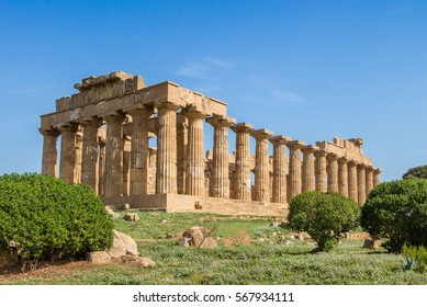 Selinunte temple Sicily Italy