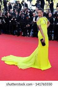 Selita Ebanks at the 66th Cannes Film Festival -Blood Ties - premiere Cannes, France. 20/05/2013