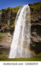 Seljalandsfoss - A famous waterfall in Iceland