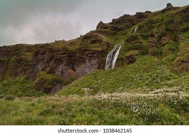 Seljalandsfoss is a waterfall in Iceland. Seljalandsfoss is located in the South Region in Iceland right by Route 1.