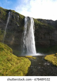 Seljalandsfoss waterfall, South of Iceland