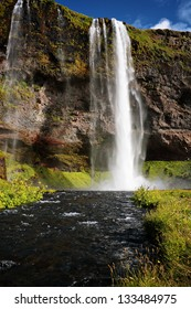 Seljandsfoss: a famous waterfall in Iceland