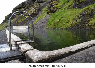 Seljavallalaug Outdoor Swimming pool in Iceland