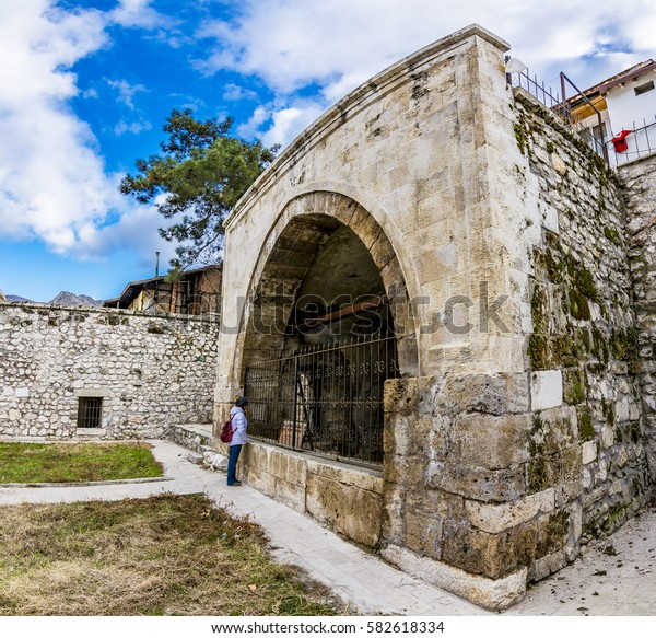 Seljuk tombs view in Amasya City,