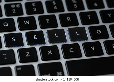 """Sell"" on a keyboard"