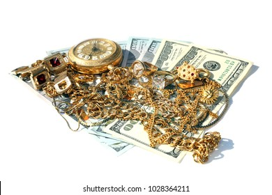 Sell your old broken gold jewelry for Cash. Cash for gold. Computer scrap gold for cash.