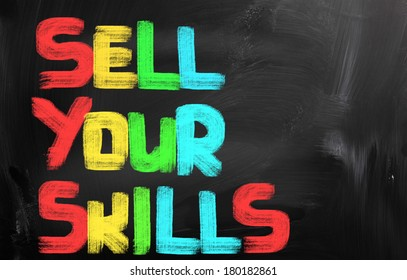Sell Your Skills Concept