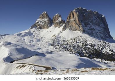 Sella Peak, Dolomite Alps, Italy
