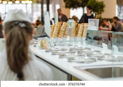 seller of ice cream