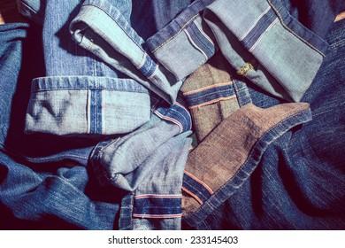 Selvedge jeans  vintage style
