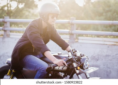 Semarang, Indonesia - 16 June 2019 : Sunday Morning Ride