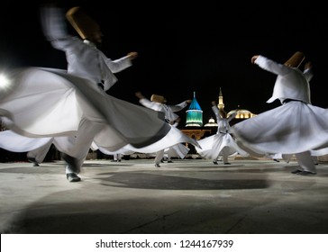 Semazen or Whirling Dervishes Mevlana, Konya, Turkey - 12 07 2018