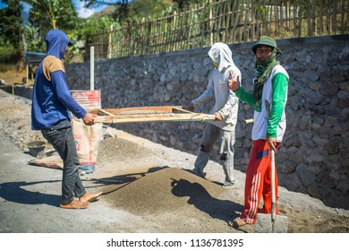 Construction Worker Indonesia Images, Stock Photos & Vectors