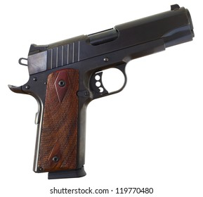 Semi automatic handgun that is used for self defense