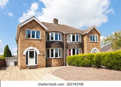 Semi detached house