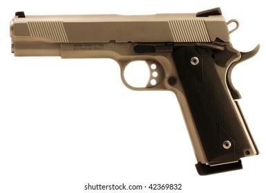 A semi-auto pistol.
