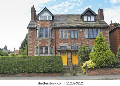 Semi-detached house, Middleton, Manchester, UK