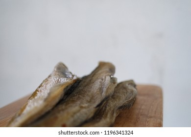 Semi-dried little pollacks