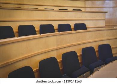 Seminar Curved seating - Auditorium