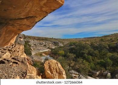 Seminole Canyon near Comstock Texas