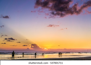 Seminyak - along the beach