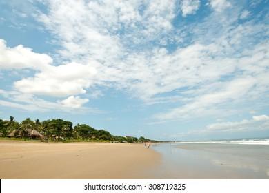 Seminyak Beach, in  Bali, Indonesia