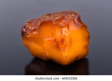 Semiprecious stone Amber, the pitch connected with coniferous vegetation. It is applied in production of jewelry.