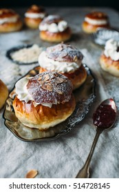 semla is a traditional sweet roll made in various forms in the Nordic countries associated with Lent and especially Shrove Monday and Shrove Tuesday