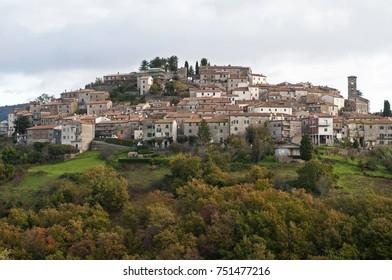 Semproniano. Locality: Tuscany, Italy.