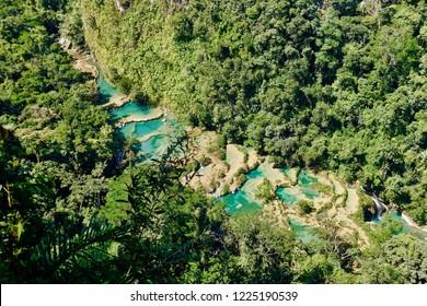 Semuc Champey - 2018.11.06 - Limescale create beautiful pools