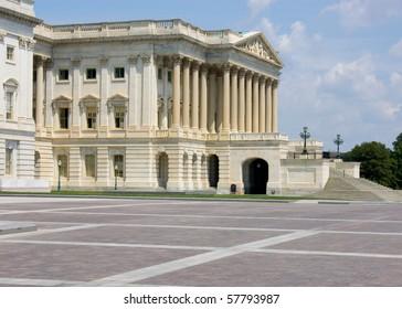 Senate wing of US capitol