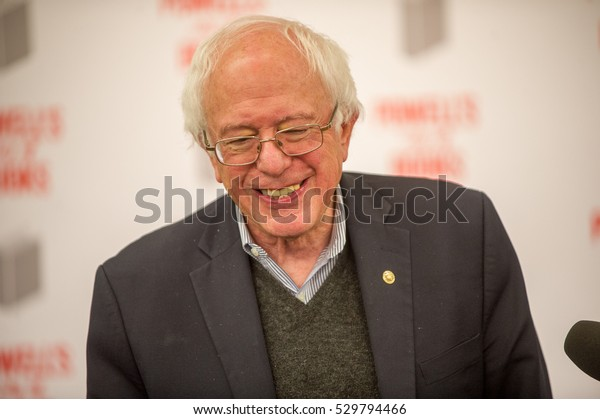 Senator Bernie Sanders visits Powell's City of Books, December 1, 2016, Portland, OR.