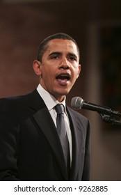 Senator Obama Speaks