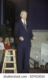 Senator Orrin Hatch addressing the New Hampshire Presidential Candidates Youth Forum, January 2000
