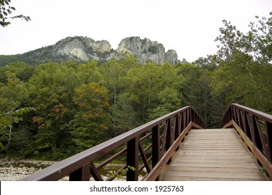 Seneca Rocks bridge