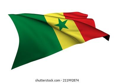 Senegal flag - collection no_5